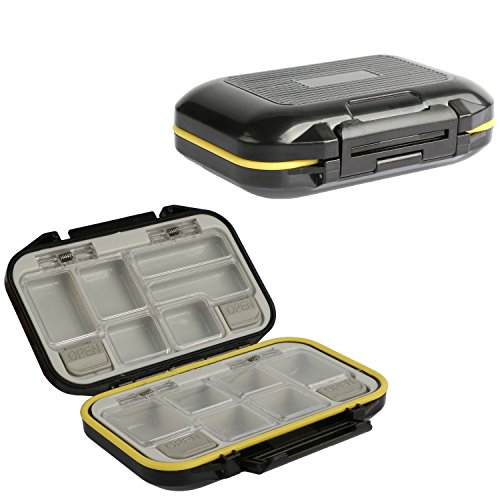 Shelure Fishing Lure Boxes Bait Tackle Plastic Storage Small Lure Case Fishing Accessories product image