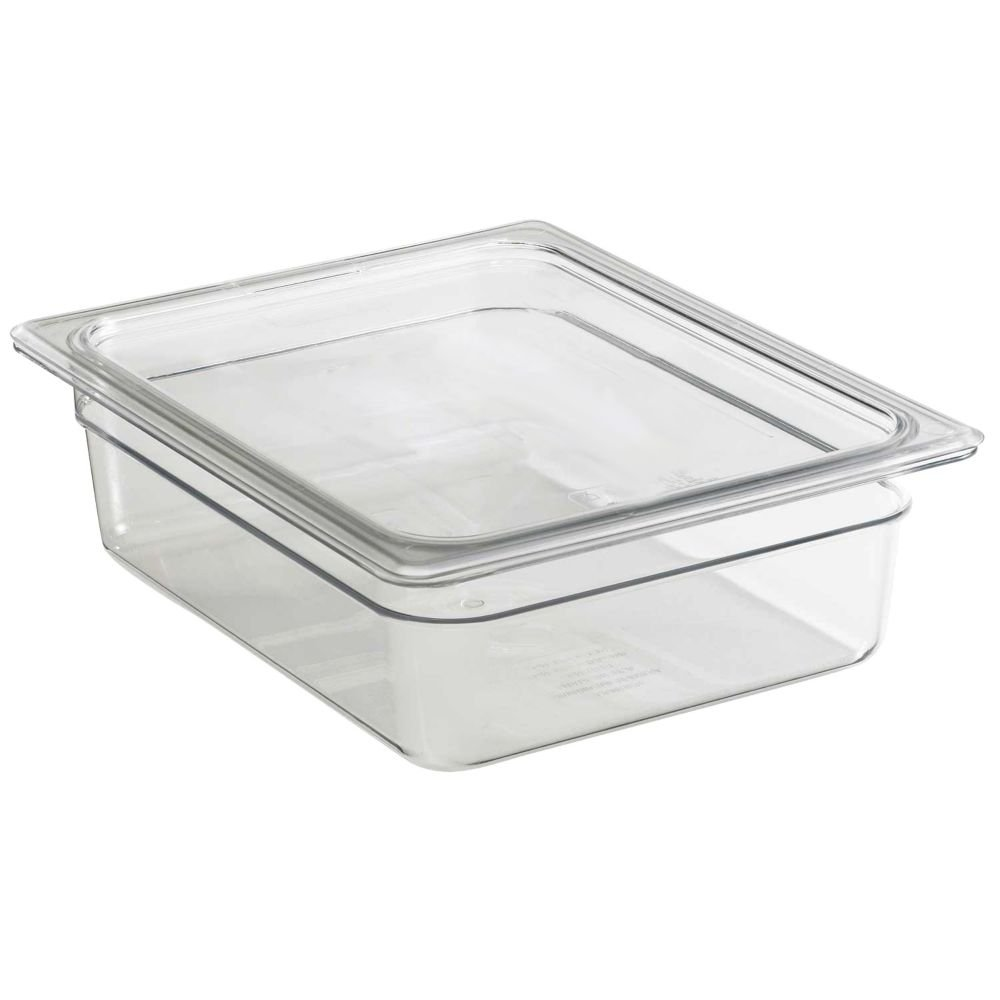 Cambro Clear Food Pan, Full Size (12-3/4'' x 20-7/8'') - 2-1/2''