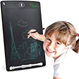 Huaker Writing Tablet, 8.5-inch Screen Electronic drawing pad,Portable drawing tablets for Kids and Adults at Home, School and Work Office(Black)