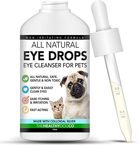 All Natural Eye Drops for Dogs \u0026 Cats