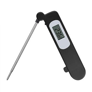 TOPELEK Termómetro Digital Portátil Medición Directa de Cocina, Termómetro para Alto Rendimiento de Alimentos,