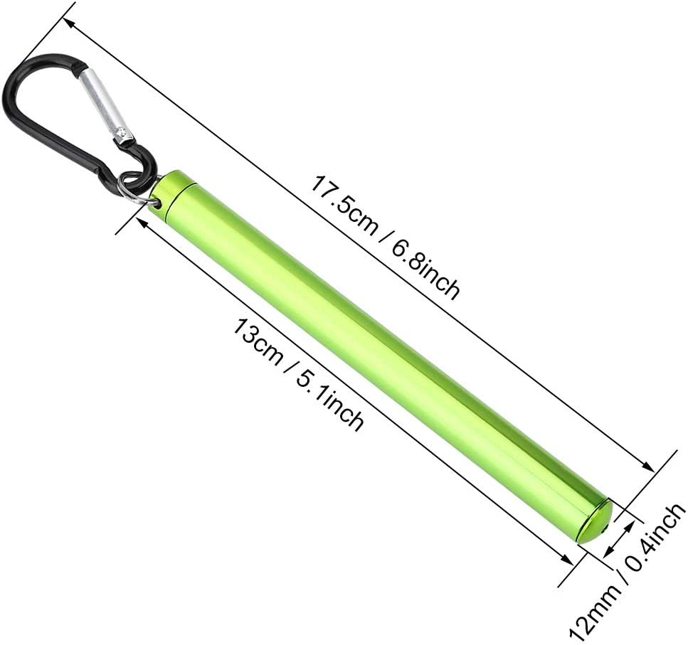 Fliegenfischen Thermometer-Durable Fischerthermometer Outdoor Metall Wasser Stream Temperaturmessung 60 Celsius for Stream River Lake Fly Angelzubeh/ör Farbe : Black 3 Optional Farbe