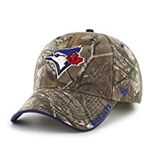 Toronto Blue Jays Realtree Camo Frost Adjustable Hat - Size One Size