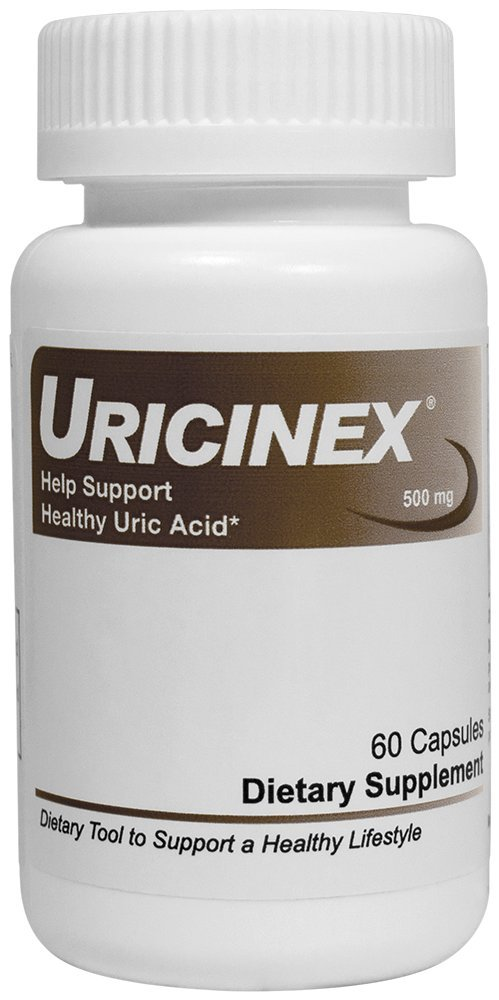 HelloLife Uricinex - Natural Dietary Supplement to Help Support Normal Uric Acid and Comfortable Joints