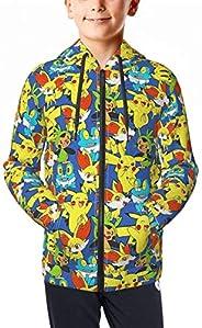 OPENG P-Okemon P-Ikachu Sweatshirts Boys Girl 3D Print Hooded Hoodies