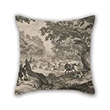 Best Plaid Home Collection Bird Houses - Throw Pillow Case Of Oil Painting Jacques Callot Review