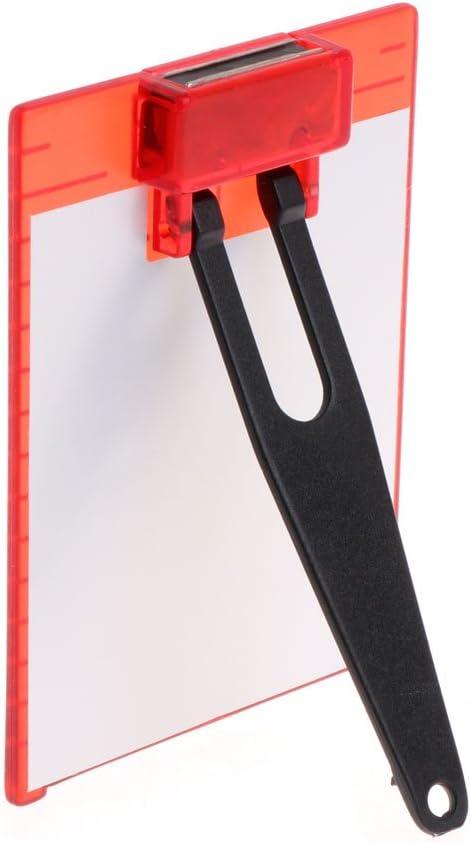 qiuxiaoaa Placa de Objetivo roja magn/ética l/ínea Cruzada rotativa Nivel l/áser Medidor de Distancia Medici/ón de Nivel Rojo