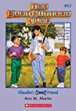 Claudia's Friend (Baby-Sitters Club) by Ann M. Martin front cover