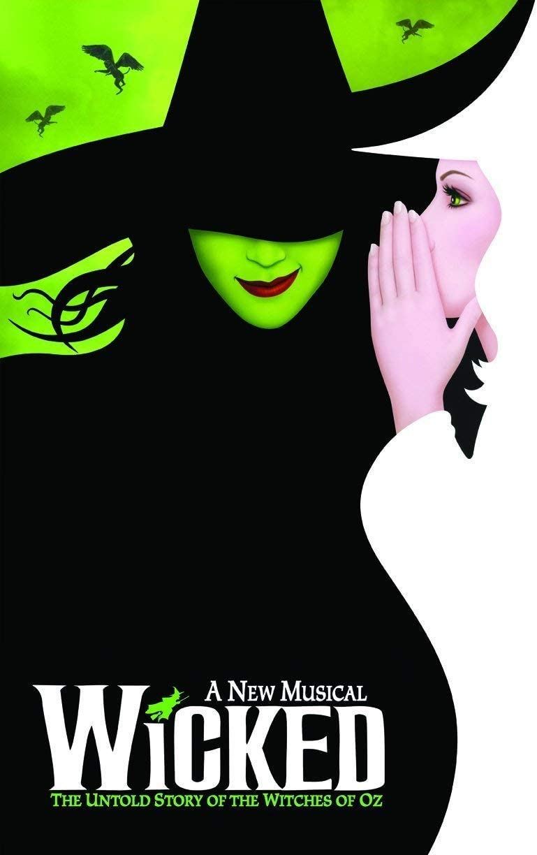 New Wicked (Broadway) Poster (16 x 25 Inches - 40cm x 63cm) Master Poster 16x25 Print Sticker Retro Unframed Wall Art Gifts