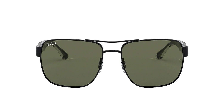 Ray-Ban 0Rb3530 Gafas de sol, Black, 58 para Hombre