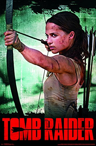 """Price comparison product image Trends International Tomb Raider - Bow Wall Poster 22.375"""" x 34"""" Multicolor"""
