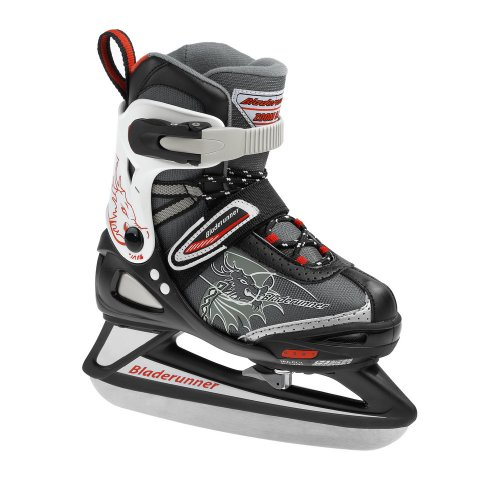 Bladerunner Rollerblade Adjustable Phaser Ice B Junior 4 Size Ice Skate