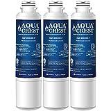 AQUACREST NSF 53&42 Replacement DA29-00020BRefrigerator Water Filter, Compatible with Samsung DA29-00020B, DA29-00020A, HAF-CIN/EXP, 46-9101 Water Filter (Pack of 3)
