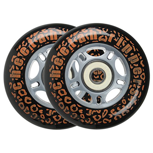 BLACK CHEETAH Wheels for RIPSTICK ripstik wave board ABEC 9