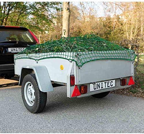 Unitec 10299 Anhängernetz Mit Gummiband Maߟe 1 5 X 2 2 M Baumarkt