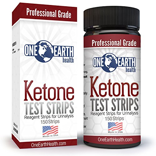 Ketone Strips (USA Made, 150 Count): Accurate Ketosis Urine Test Strips For Keto Diet and Ketogenic Measurement. Lose Weight With Confidence. Keto Ebook Emailed. Lifetime Guarantee.