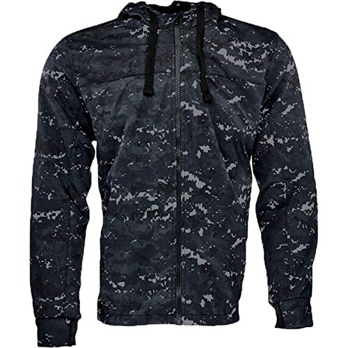 Speed and Strength Go for Broke 2.0 Hoody Men's Street Motorcycle Jacket - Blue/Camo / 2X-Large