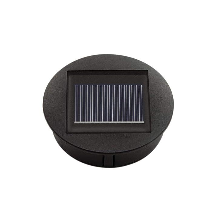 Petrala Solar Lantern Lights Panel Replacement Top for Outdoor Hanging Lanterns for Garden Patio Walkway Yard