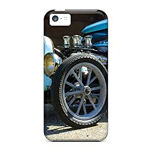 iphone 4 /4s Plastic phone carrying shells Protective Series blue hot rod