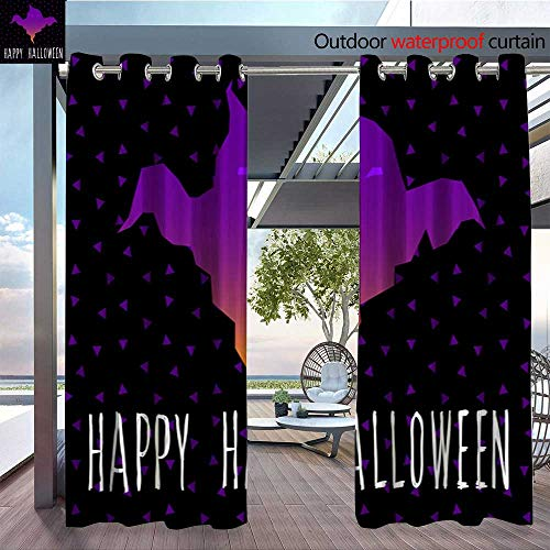 QianHe Outdoor- Free Standing Outdoor Privacy Curtain Happy-Halloween-Card-Template-Abstract-Halloween-Pattern-for-Design-Card-Party-Invitation-Poster-Album-menu-t-Shirt-Bag-Print-etc-3.jpg for Fron -