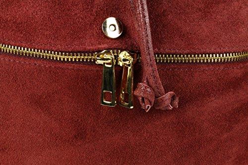 Girly Handbags - Bolso de Mochila Mujer granate