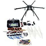 QWinOut DIY FPV Drone Multicopter ARF Unassembly Kit : Folding Hexacopter + APM 2.8 Flight Controller + GPS + Flysky FS-i6 6CH 2.4G TX&RX (No Battery and Charger)