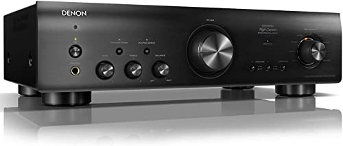 Denon PMA-800NE Stereo Integrated Amplifier Up to 85W x 2 Channels Built-In Phono Pre-Amp Analog Mode Advanced High Current Power,Black