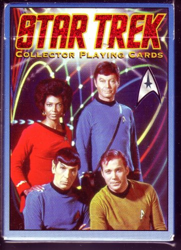 STAR TREK COLLECTOR PLAYING CARDS (HOYLE)-FIRST IN THE SERIES ()