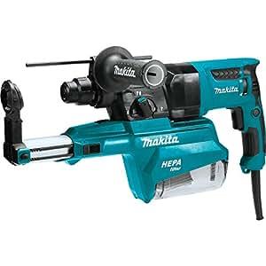 "Makita HR2651 1"" AVT Rotary Hammer, Accepts Sds-Plus Bits, w/ Hepa Dust Extractor (Pistol-Grip)"