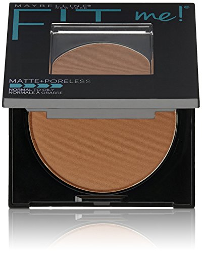Maybelline New York Fit Me Matte Plus Poreless Powder, Mocha, 0.29 Ounce - Fit Face