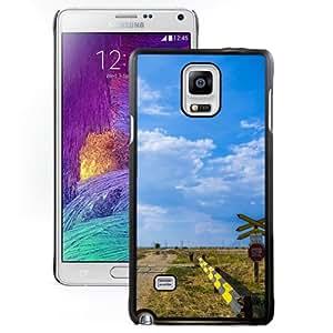 New Beautiful Custom Designed Cover Case For Samsung Galaxy Note 4 N910A N910T N910P N910V N910R4 With Road Signs Phone Case