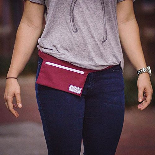 Hatch Pack - Minimal Fanny Pack - Wine - Red Inch Wine 8