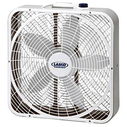 """Lasko #3720 20"""" Weather-Shield Performance Box Fan 2-Pack"""