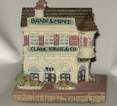 Liberty Falls Clark, Dubois Bank and Mint AH12 By The Americana Collection