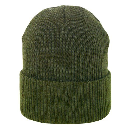 10 Olive Drab (Fox Outdoor Products GI Wool Watch Cap, Olive Drab)