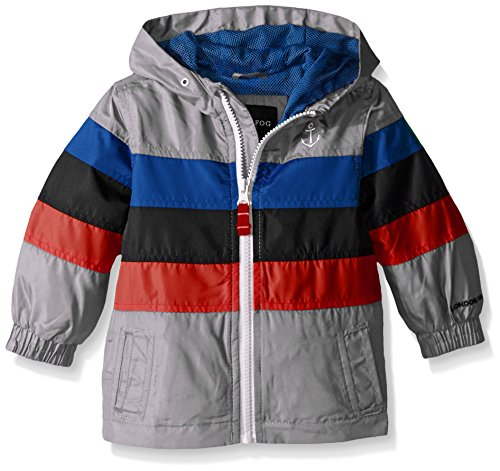 london-fog-baby-chest-stripe-poly-lined-jacket-grey-24-months
