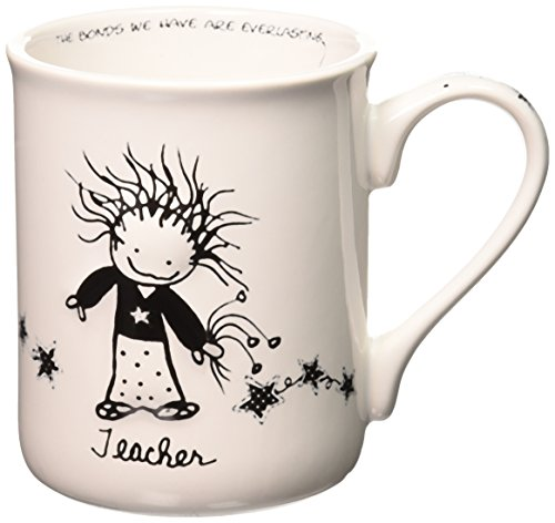 Special Teacher Mug - Enesco Children of the Inner Light Teacher Stoneware Gift Mug, 16 oz.