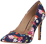 Penny Loves Kenny Women's Opus SF Pump, Blue Floral, 13 Wide US