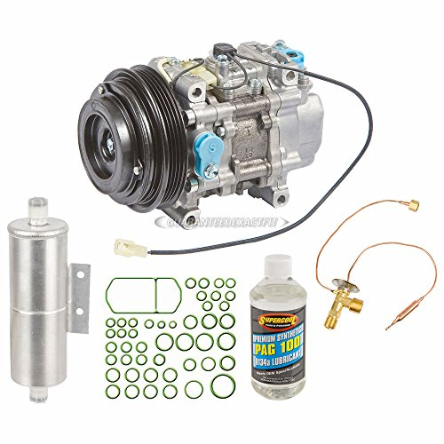 AC Compressor w/A/C Repair Kit For Mazda Miata 1999 2000 - BuyAutoParts 60-82379RK New