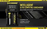 Best Nitecore Vape Battery Chargers - Nitecore D2 Charger with LCD Display Universal Smart Review