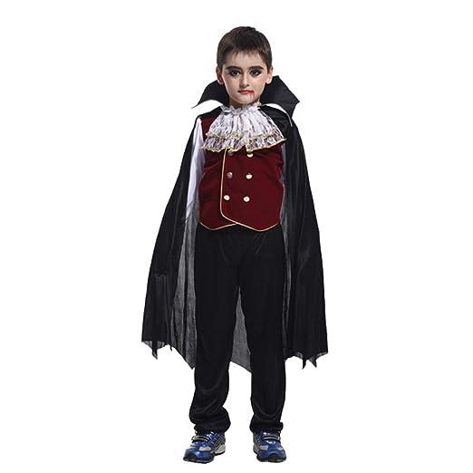 RENJIANFENG Disfraz De Vampiro Earl para Niño Ropa De Fantasma De ...