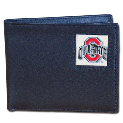 NCAA Ohio State Buckeyes Leather Bi-fold Wallet Ohio Bi Fold Wallet