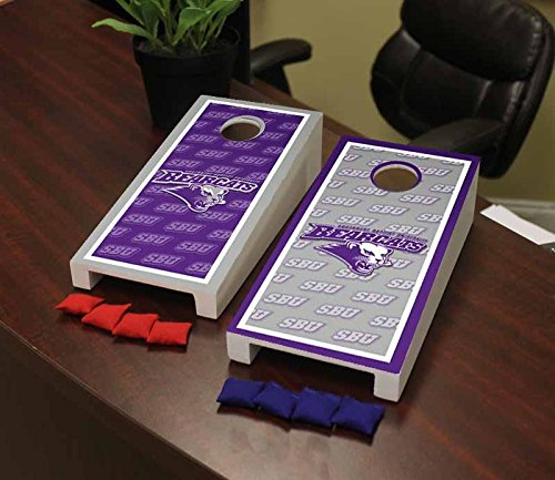 - Victory Tailgate Southwest Baptist University SBU Bearcats Desktop Cornhole Game Set Border Version 2