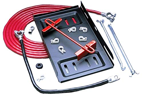 Taylor Cable 48010 Red Single Trunk Mount Battery Relocator Kit