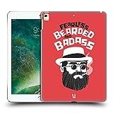 Head Case Designs Fearless Bearded Bravado Hard Back Case for Apple iPad Pro 12.9 (2016/17)
