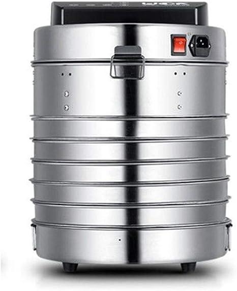 Opinión sobre L.TSA Deshidratador de Alimentos Secador de Alimentos, Temporizador Inteligente de Control de Temperatura Acero Inoxidable 304 Bandeja de 5 Capas Deshidratador de Alimentos, Procesamiento de