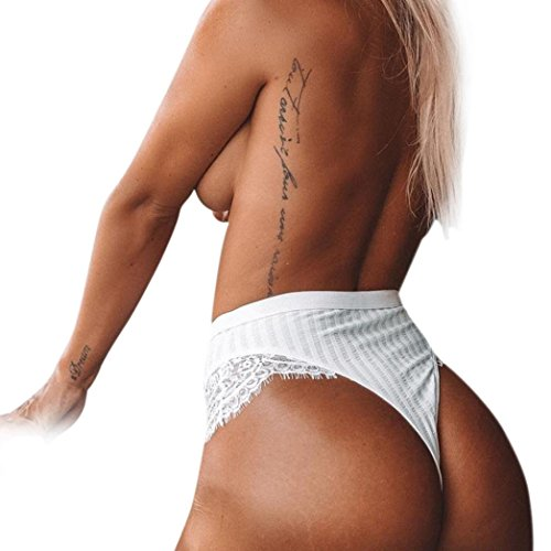 GBSELL Women Sexy Lace G-String Thongs Bikinis Boy Shorts Hipsters Briefs (Hipster Swimwear Trunks)