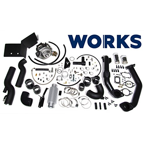 Works 142.211 Stage 1 Turbo Charger Complete Kit without Tune for 2013-2016 Subaru BRZ/Scion FR-S