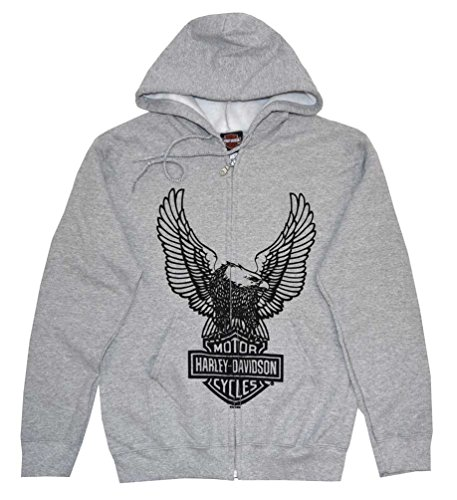 Harley Davidson Hooded Sweatshirt Zippered 30296664