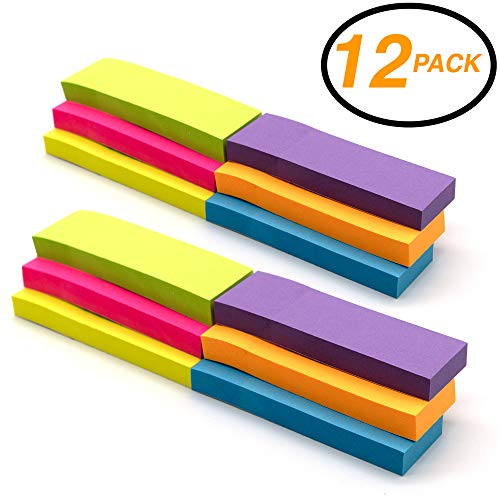 Emraw Colorful Sticky Page Markers Index Tabs, 1